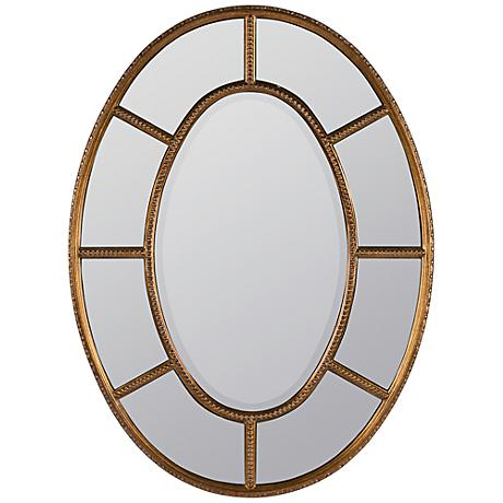 "Elgin 40 3/4"" High Oval Wall Mirror"