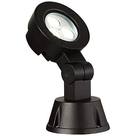 "Super Duty 8 1/4"" High Black Outdoor LED Spot Light"