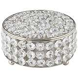 Cristalis Round Crystal Jewelry Box