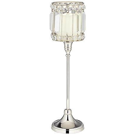 Cristalis Prism Tall Crystal Candle Holder by Studio 55D