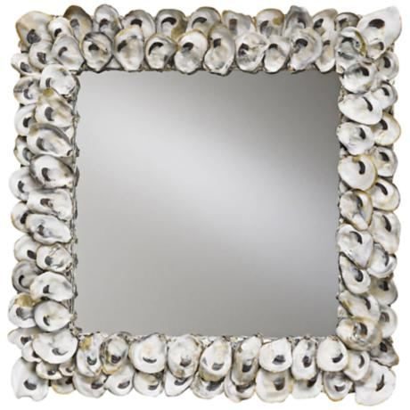 Oyster Shells For Sell Oyster Shell Wall Mirror