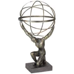 Abstract Man Bronze Sculpture