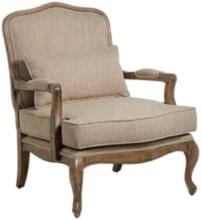 Ducey Beige Accent Chair