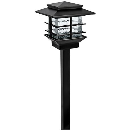 Dalton Squares Low Voltage Black LED Path Light