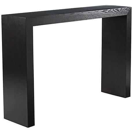 Arch Espresso Console Table