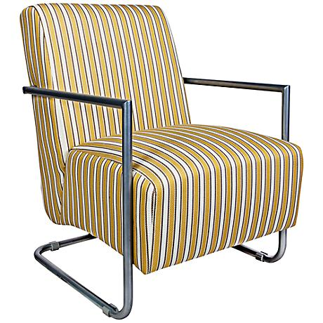 angelo:HOME Roscoe Marigold Cottage Stripe Armchair