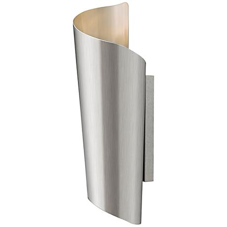 "Hinkley Surf 24"" High Stainless Steel Outdoor Wall Light"