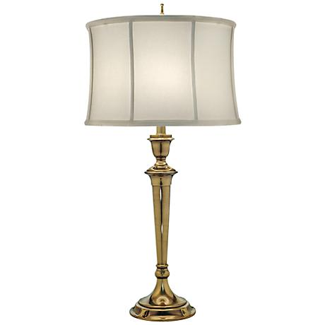 Stiffel Burnished Brass Table Lamp