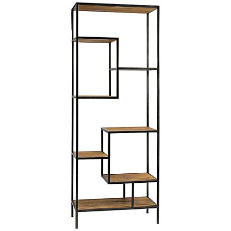Irondale Helena Reclaimed Wood Bookcase