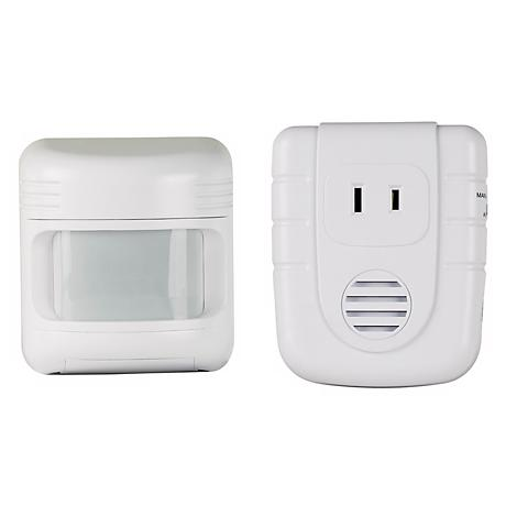 Wireless Outdoor Motion Sensor With Indoor Alert