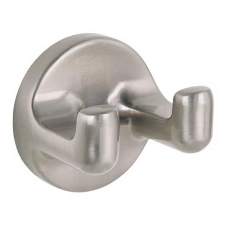 Infinity Satin Nickel Robe Hook
