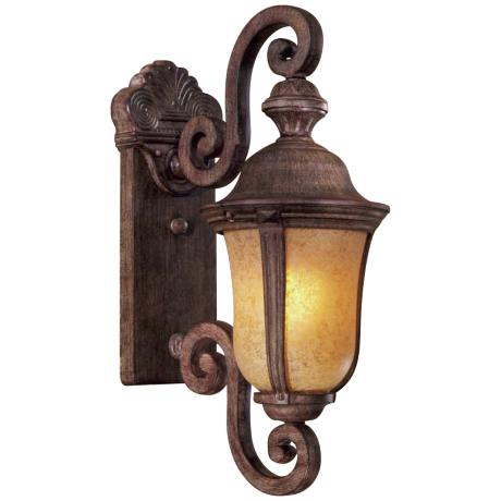 "Ardmore 19 3/4"" High Vintage Rust Outdoor Light"