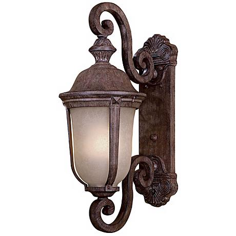"Ardmore 25"" High Vintage Rust Outdoor Wall Light"