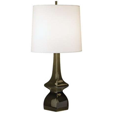 Jayne Tobacco Brown Glazed Ceramic Table Lamp