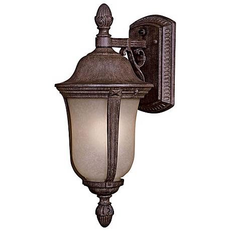 "Ardmore 17 1/2"" High Scavo Glass Outdoor Light"