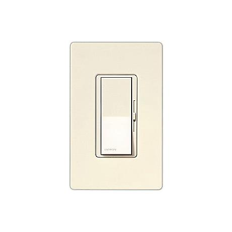 Lutron Diva SC 600W 3-Way Biscuit Off-White Dimmer