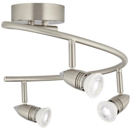 Pro Track® 150 Watt Three Light Spiral Ceiling Light Fixture