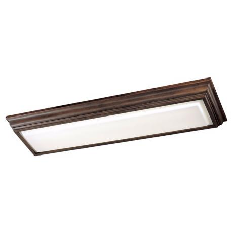 "ENERGY STAR ®  Walnut 53"" Long Ceiling Light"