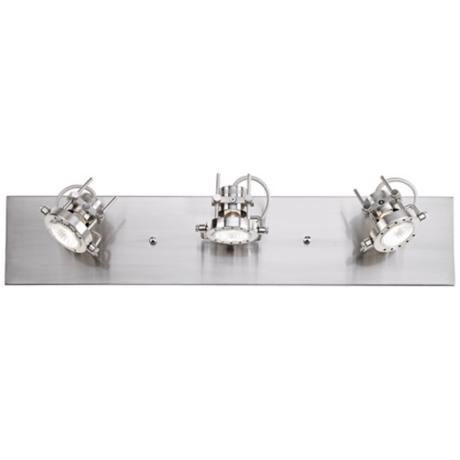 Pro Track® 150 Watt Satin Finish Three Light Fixture