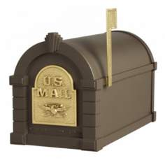 Bronze and Brass Keystone Mailbox