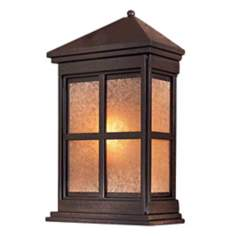 "Berkeley 17 1/2"" High Solid Brass Outdoor Wall Light"