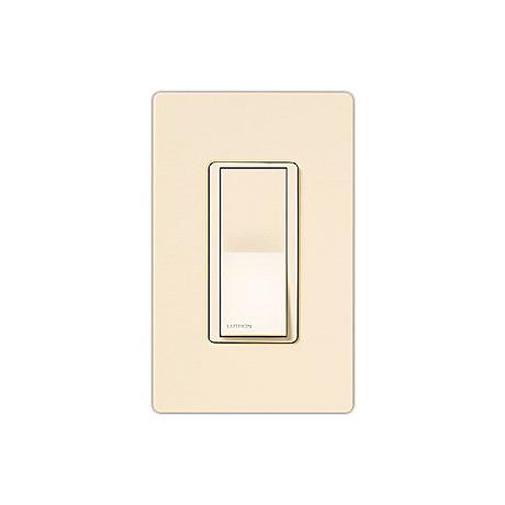 Lutron Diva Eggshell SC 3-Way Switch