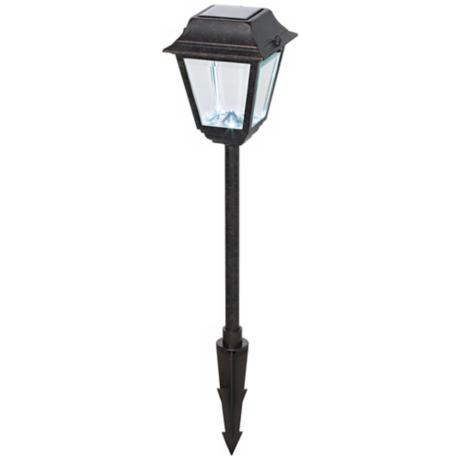 National Geographic Handford LED Solar Landscape Light