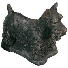 Scottish Terrier Garden Accent