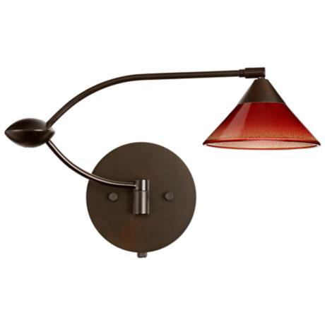 Kona Sunset Double Swing Arm Plug-In Style Wall Lamp