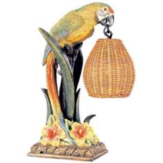 Kathy Ireland Parrot Paradise Table Lamp