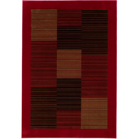 Oak Ridge Classic Red Area Rug