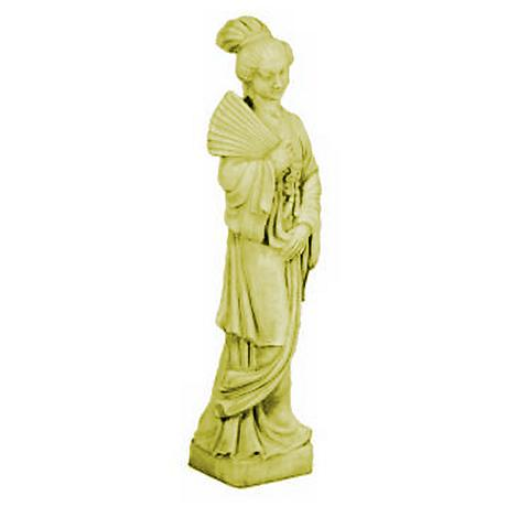 "Oriental Maiden 40"" High Garden Accent"