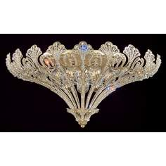 "Schonbek Rivendell Collection 24"" Wide Ceiling Light Fixture"
