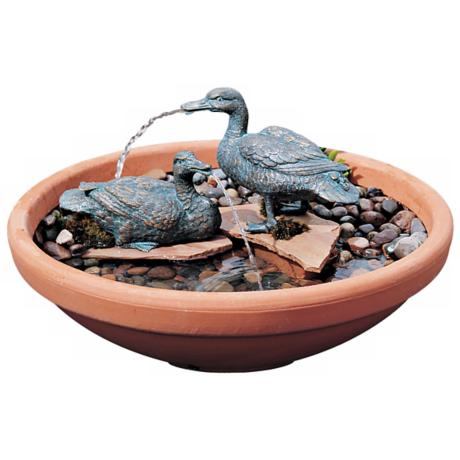 Medium Duck Pair Fountain