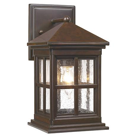 "Berkeley Collection 12"" High Outdoor Wall Light"