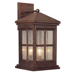 "Berkeley Collection 16 1/2"" High Outdoor Wall Light"