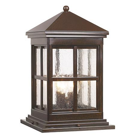 "Berkeley Collection 18 3/4"" High Outdoor Pier Mount Light"