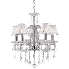 Regent Square Five Light Crystal Chandelier