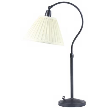 Hyde Park Collection Downbridge Bronze Finish Desk Lamp