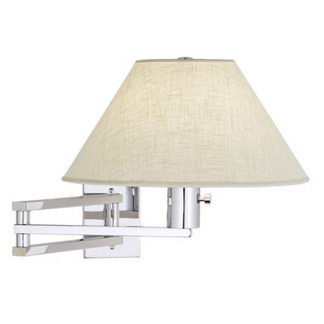 Urban Series Chrome Swing Arm Wall Lamp