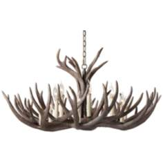 Big Sky Twelve Light Elk Antler Chandelier