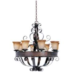 Aspen Collection Eight Light Chandelier