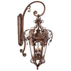"Botana Grace 45"" High Outdoor Wall Light Fixture"