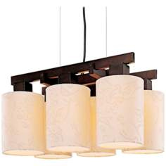 "George Kovacs Kimono Collection 21 1/4"" Wide Chandelier"