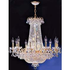 James R. Moder Mirabelle Twenty-Eight Light Chandelier