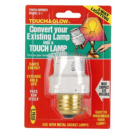 Touch & Glow Screw-In Touch Dimmer
