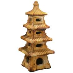 Four Tier Pagoda Garden Accent