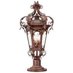 "Botana Grace 26 1/4"" High Outdoor Post Light Fixture"
