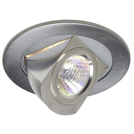 "Juno 4"" Low Voltage Chrome Adjustable Recessed Light Trim"