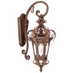 "Botana Grace 23"" High Outdoor Wall Light Fixture"